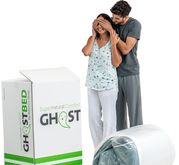 Get a GhostBed Mattress. Risk Free!